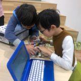 """「ロボ団レッスンでの1コマ」""""そうだ、プログラミングで自動化してみよう!"""""""