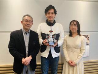 【メディア】3月20日(金)朝日放送ラジオの「おはようパーソナリティ道上洋三です」に団長の重見が出演しました!